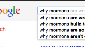Ever wonder what people are wondering about Mormons?