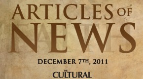 Articles of News Week of Dec 7th