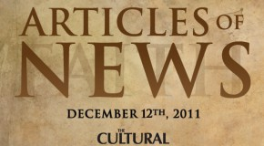 Articles of News Week of Dec. 12th