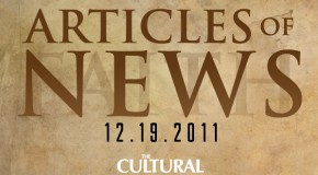 Articles of News Week of Dec. 19th