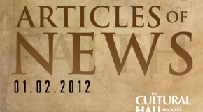 Articles of News Week of January 2, 2012