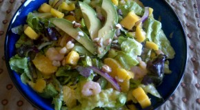 Citrus Shrimp Salad with Tangy Mango Dressing