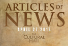 Articles of News/Week of April 27th