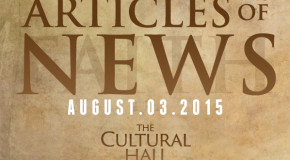 Articles of News/Week of August 3rd