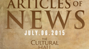 Articles of News/Week of July 6th