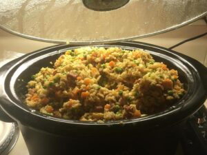 "Chop Suey Palace Fried Rice for ""A Christmas Story"" Party"
