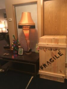 "Leg Lamp for ""A Christmas Story"" Party"